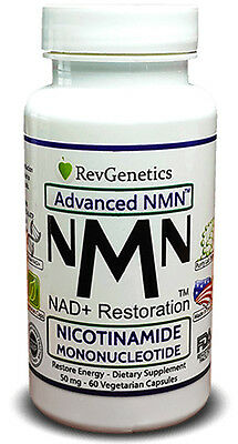 Revgenetics Advanced Nmn   50 Mg Nicotinamide Mononucleotide   Restore Energy Di