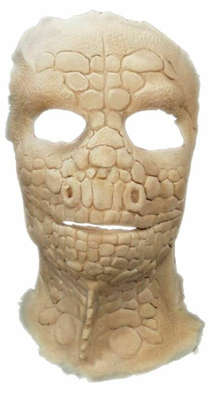 Lizard Mask Foam Latex Prosthetic