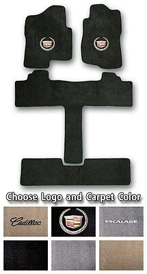 2002 2017 Cadillac Escalade Sport Carpet Floor Mats   Choice Of Color   Logo