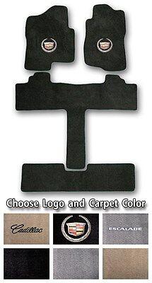 2002 2017 Cadillac Escalade Sport Carpet Floor Mats Choice Of Color   Logo