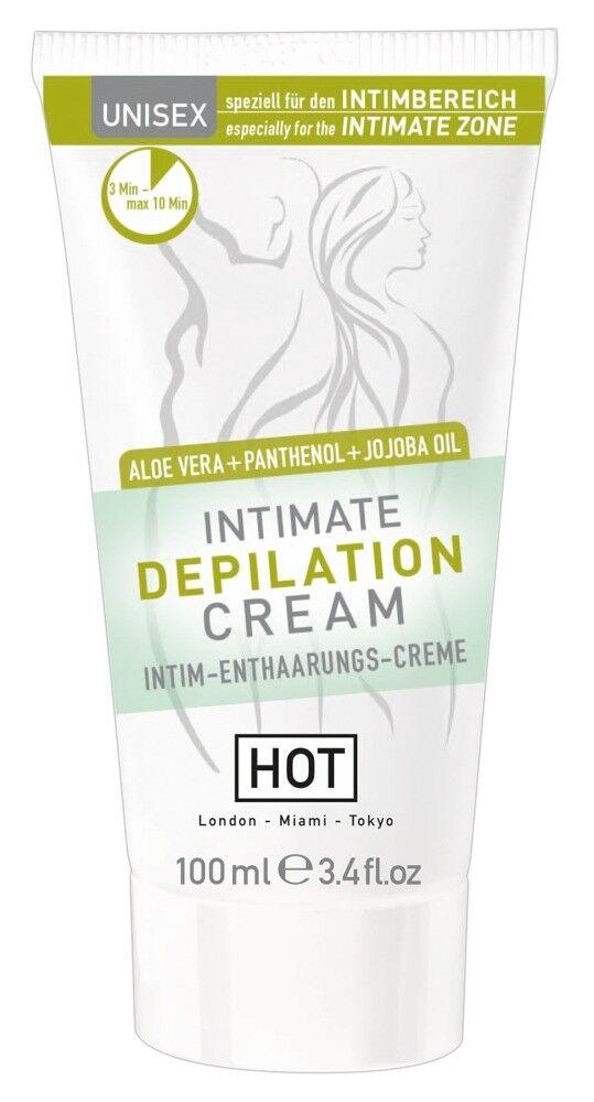 Enthaarungscreme für den Intimbereich Intimpflege Hygiene Unisex  HOT  100 ml