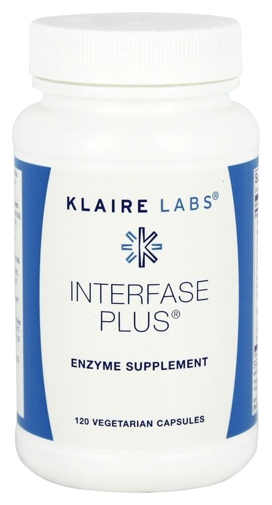 Klaire Labs Interfase Plus 120 Vegetarian Capsules