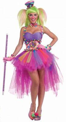 Kostüm - Lulu der Clown - Damen Clownskostüm Zirkus modern Harlekin Circus