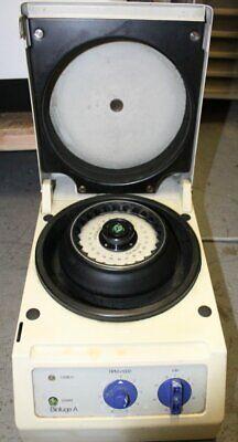 Baxter Biofuge A Centrifuge Heraeus Sepatech Model 1217 w/ 24 Position Rotor