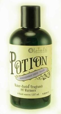 Monogrammed Linens Potion Water Based Fragrance for Warmers by La Tee Da