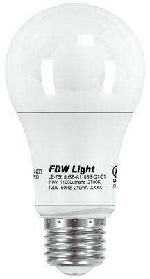 New 60 Watt Equivalent SlimStyle LED Light Bulb Soft White 2700K 6 Pack 60W A196 Home & Garden