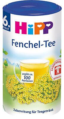 HiPP Baby Tea: FENNEL ORGANIC Made in Germany-100 servings-FREE - Tea Baby