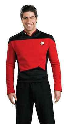 Star Trek Next Generation Halloween Costume (Command Uniform Star Trek Next Generation Red Dress Up Halloween Adult)