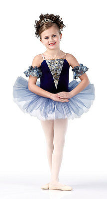 Christmas Ballet Tutu Dance Costume Tulle MY BLUE HEAVEN Child & Adult Sizes - Adult Christmas Tutu