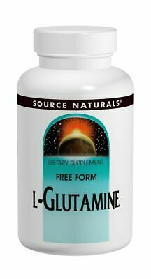 Source Naturals Free Form L-Glutamine 500mg, 50 Tablets
