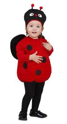 KLEINKINDKOSTÜM MARIENKÄFER KINDERKOSTÜM BABYKOSTÜM BABY KLEINKIND KOSTÜM - Kleine Marienkäfer Baby Kostüm