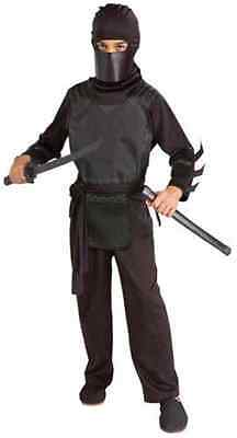 Bruce Wayne Ninja Kit Batman Begins Fancy Dress Up Halloween Child Costume