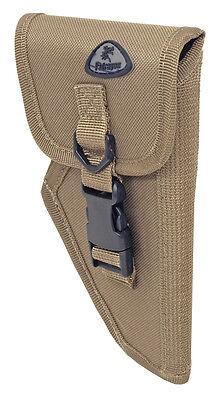 Handed Small Gun Holster (Tan Small Right Handed Gun Belt Holster BB Airsoft Pistol Tactical Handgun 5705 )