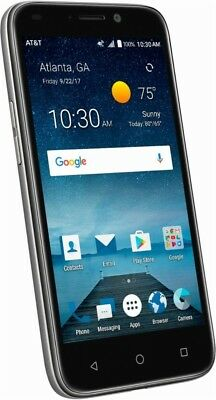 AT&T Prepaid - ZTE Maven 3 4G with 8GB Memory Prepaid Cell Phone - Black