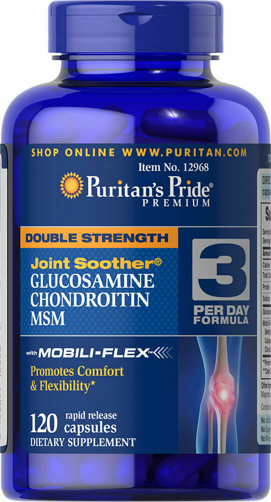 Glucosamin Chondroitin Msm Riesig 120 Joint Schnuller Gesunde Gelenke Arthritis