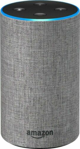 Amazon Echo - 2nd Generation - Smart Assistant / Wireless Speaker - Gray