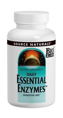 Essential Enzymes 500mg Source Naturals, Inc. 120 Caps (Essential Enzymes 120 Caps)