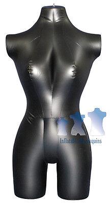 Inflatable Mannequin Female 34 Form Black