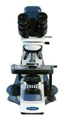 New Velab Ve-bc3 Plus Plan Microscope With Digital Camera