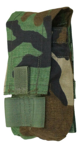 SDS Woodland M 4 Double Mage Pouch Specialty Defense