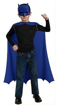 Child Batman Costume Cape and Mask Simple Halloween - Simple Halloween Outfit