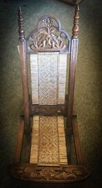 Stunning Victorian Folding Chair