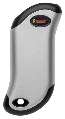 ZIPPO OUTDOOR 9s Plus 9 Hour Rechargeable Dual sided Hand Warmer Silver 40569