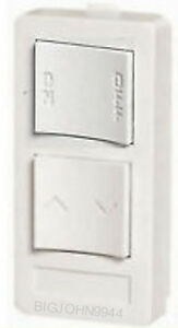 X10-PRO-XP2D-W-White-In-Wall-Keypad-2-Button-1-Unit-On-Off-Dim-Version-A