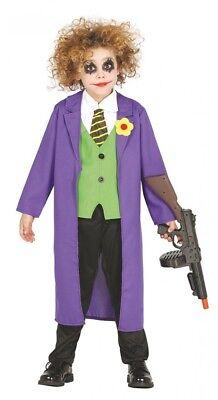 Gauner Kinder-Kostüm GUI Gotham Comic Film Jungen Mädchen Kinderkostüm Schurke