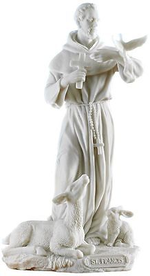 St. Francis of Assisi Statue Sculpture Christian Figure *FATHER'S DAY GIFT*