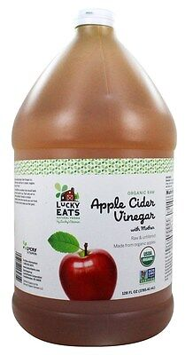 LuckyEats - Organic Raw Apple Cider Vinegar with Mother by LuckyVitamin - 128
