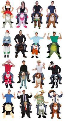 Huckepack Kostüm Trag Mich Aufsitzkostüm Reiter Carry Me Trump Einhorn Affe - Einhorn Kostüm Lustig