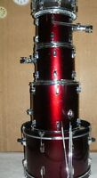Peavey International II drum set shell with NEW Evans skins