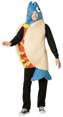 ADULT BLUE FISH TACO HEAD AND TAIL FOODIE COSTUME GC6130