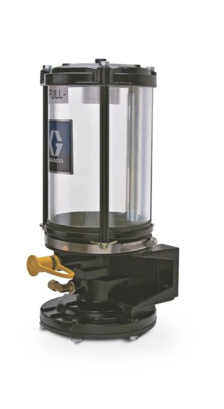GRACO 24K164 Pneumatic Grease Jockey Pump with 6lb Reservoir Straight Fill Port
