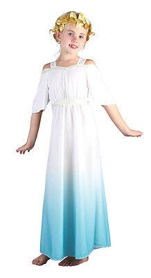 Antike Römische Gottheit Kinderkostüm NEU - Mädchen Karneval Fasching Verkleidun