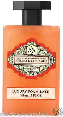 AAA Aroma Neroli & Bergamot Luxury Foam Bath 500ml
