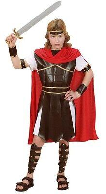 Hercules Römer Gladiatoren Kinder Kostüm Fasching Party Jungen Gr. 128 %SALE% (Kinder Kostüme Gladiator)