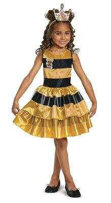 L.O.L. Surprise Doll Queen Bee Child Costume, 10510, - Kids Bee Costumes