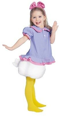 Disney Child Daisy Duck Costume Cosplay Tod Halloween Party A676 - Daisy Duck Costume Kids