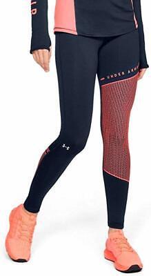 Under Armour Women's Leggings Black Size XS Activewear Cold Gear Block $55- #917