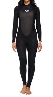 - Rip Curl Omega BZ 3/2 mm Women's Fullsuit Wetsuit Black 4 6 8 10 12