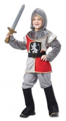 Boys Sir Lancelot Knight Fancy Dress Costume World Book (World Book Week Kostüm)