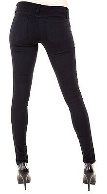 Flying Monkey Jeans NWT L7384 BEST Black Skinny Pants Sz 25 inch