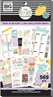 Cool To Be Kind Value Pack Stickers The Happy Planner