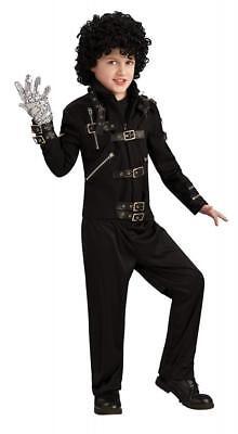 Michael Jackson Child's Bad Buckle Jacket Costume Accessory, Large](Michael Jackson Bad Costume Child)