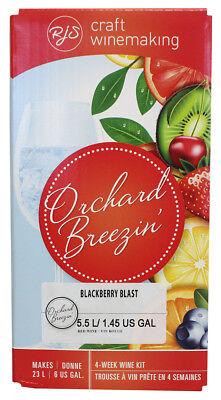 (Orchard Breezin Mist Blackberry Merlot Home Wine Making Ingredient Kit)