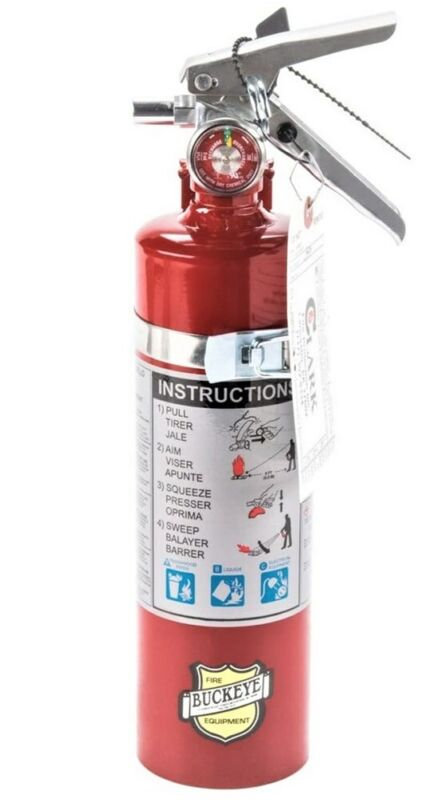Buckeye 13315 ABC Multipurpose Dry Chemical Fire Extinguisher 2.5 lb