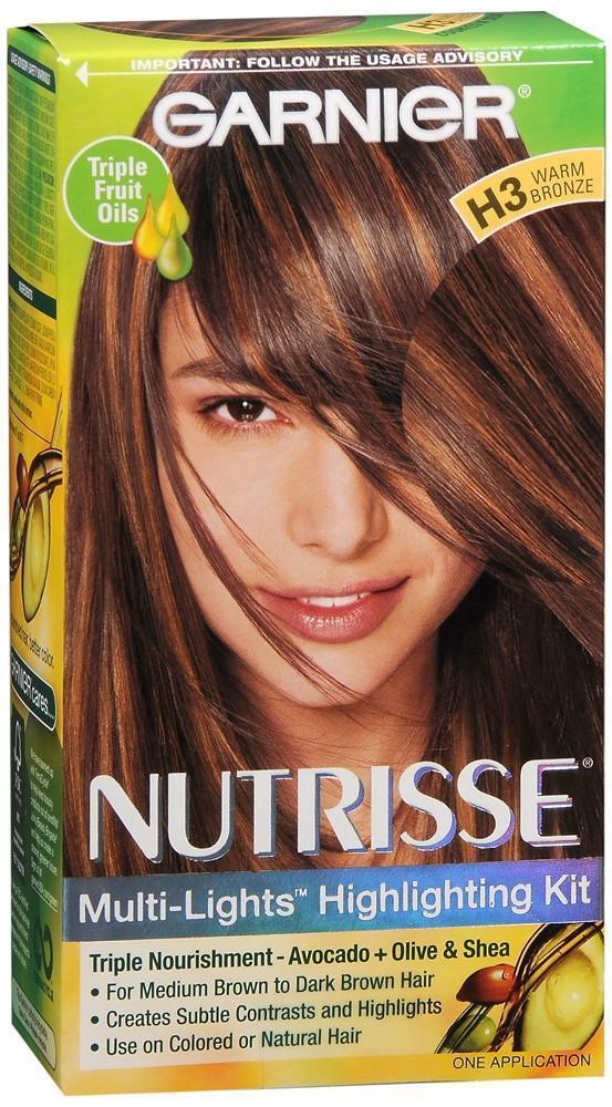 Garnier Nutrisse Nourishing Hair Color Creme H3 Warm Bronze Ebay