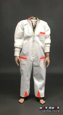 1:6 Doc Brown radiation suit outfit DChung Back Future BTTF Hot Shot Custom Toys
